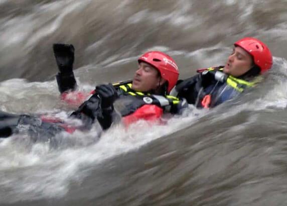 water rescue drones