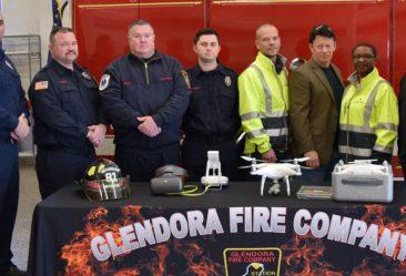 Glendora Fire Company drone donation