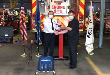 west haven fire district drone donation